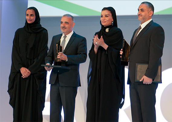 QMIC Receives 2015 Best Innovations Award at QF Annual Research Conference