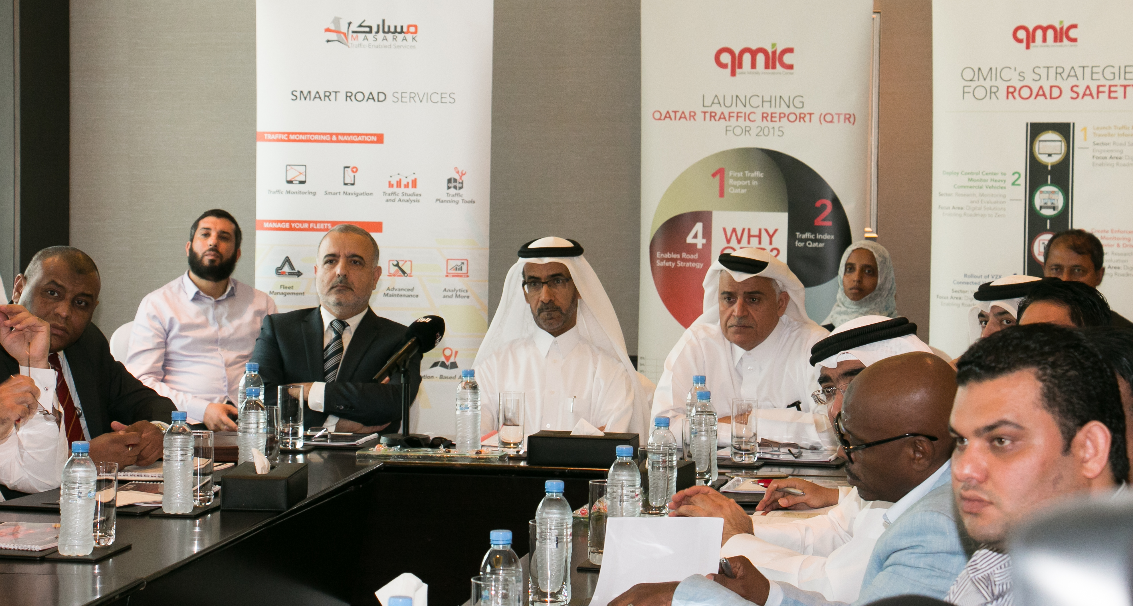 QMIC Launches the First Qatar Traffic Report: Insightful Discoveries About Traffic Congestion & Impact in 2015 Commuters Wasted 102 Hours Due to Congestion, Economic Impact of QR 5-7 B