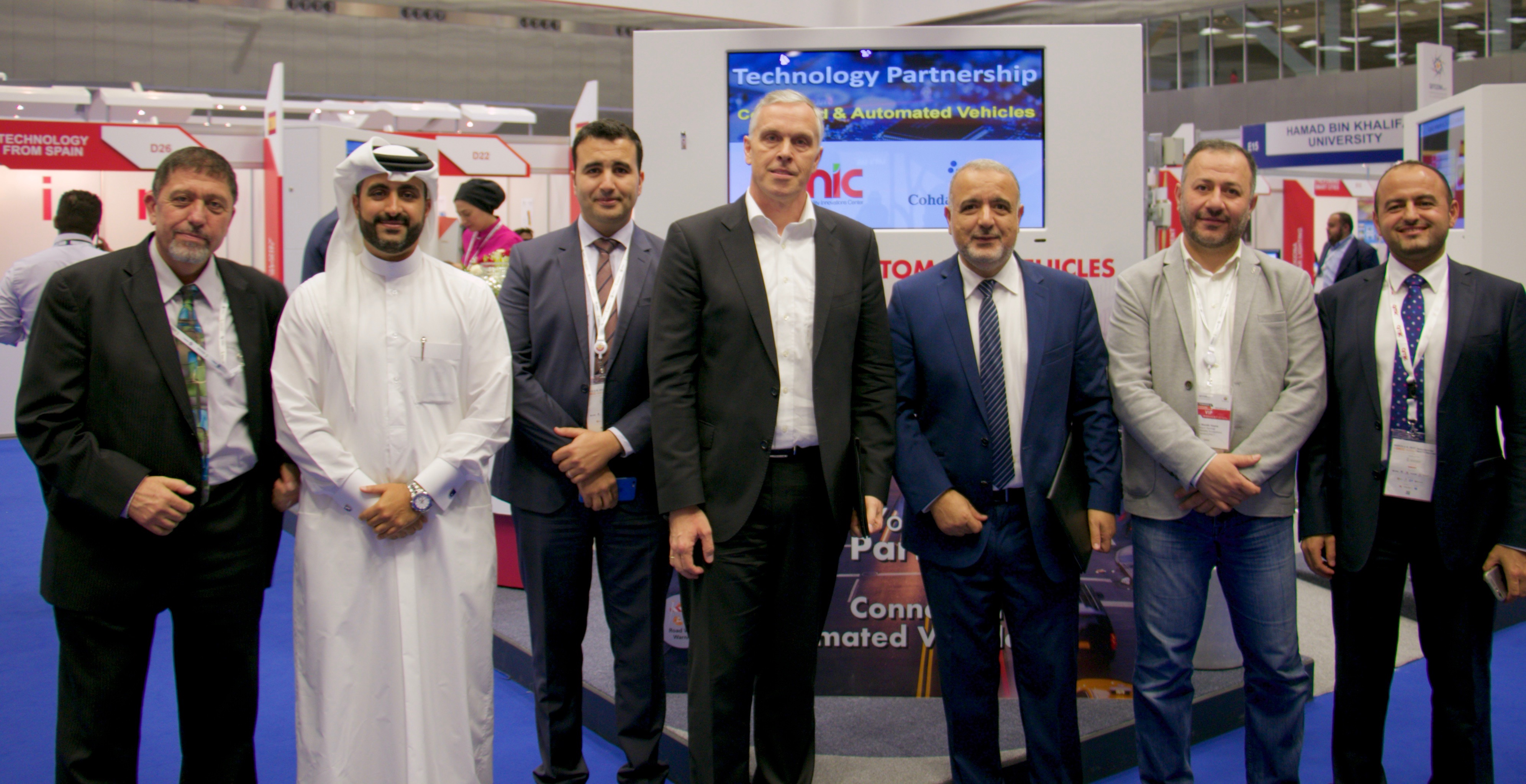 QMIC Signs an International Technology Partnership with Cohda Wireless on Connected and Automated Vehicles during the QITCOM Event