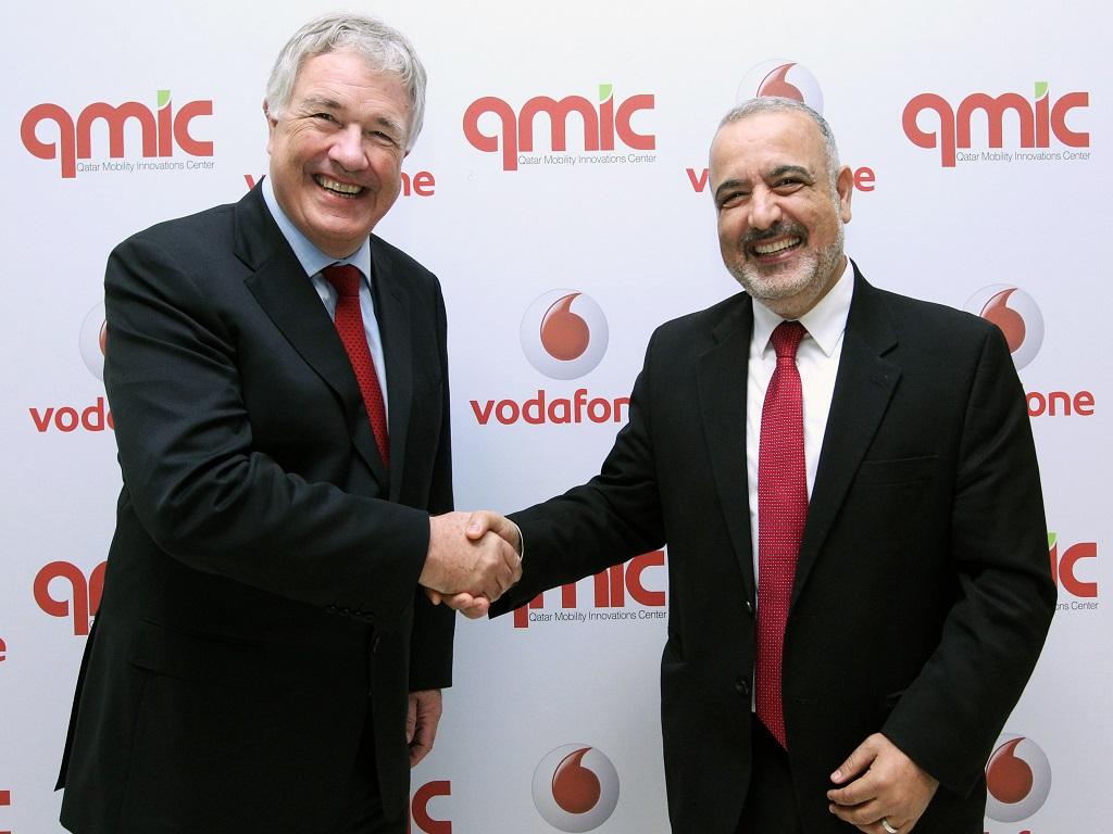 Partnership between QMIC and Vodafone Qatar
